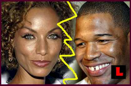 Nicole Murphy Bugged by Michael Strahan