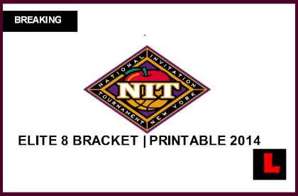photograph relating to Printable Nit Bracket known as NIT Bracket 2014 Printable Elite 8 Exhibits College or university