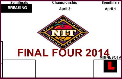NIT Bracket 2014 Final Four Advances Clemson, Minnesota College Basketball
