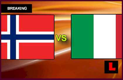 Norway vs. Italy U21 2013 Prompts Under 21 Battle en vivo live score results today