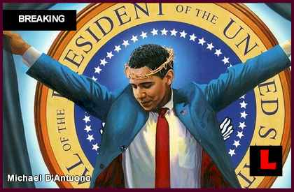 Obama as Jesus Painting Prompts NY Debate