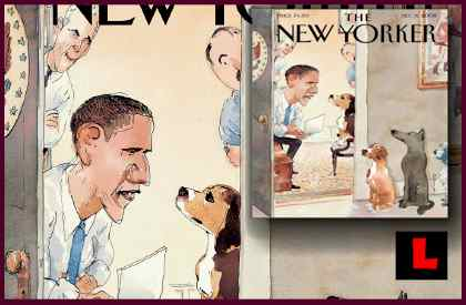 Obama Vet New Yorker Cover