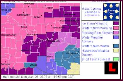 Oklahoma Road Conditions!