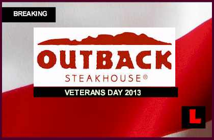 Veterans Day 2013: Free Meals Today Honor Nation's Military freebies