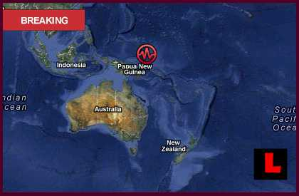 Papua New Guinea Earthquake Today 2012 Doesn't Prompt Tsunami Threat
