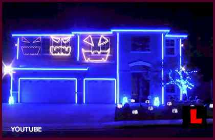Riverside LMFAO Halloween House Becomes Party Rock Address of the Season