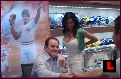 Kiana Kim and Pete Rose Getting Serious