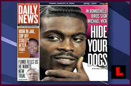 Philadelphia Daily News Michael Vick