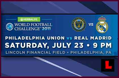 Philadelphia Union vs. Real Madrid 2011: Ronaldo Excites Lincoln Financial Field