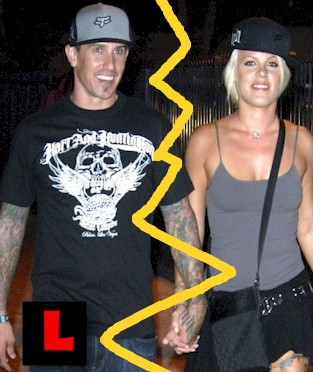 pink and carey hart divorce