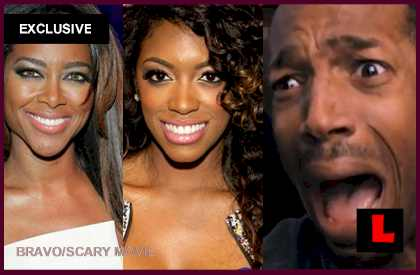 Porsha Stewart, Kenya Moore Fight Wrongly Reenacted by Marlon Wayans: EXCLUSIVE