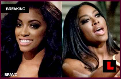 Porsha Stewart, Kenya Moore Fight Featured Israeli Military Moves