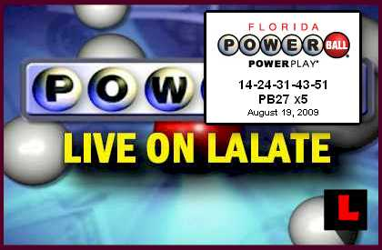 Florida Powerball Numbers!