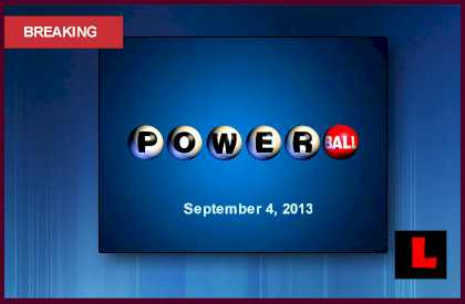 Powerball Winning Numbers September 4 Prompt Big Results Tonight 2013