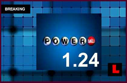 Powerball Winning Numbers January 24, 2015 1/24/15 Results Tonight Released 2015 l