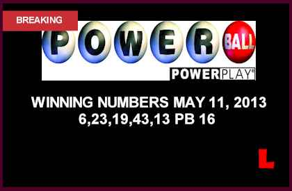 Powerball Winning Numbers May 11, 2013 Grow Pass Quarter Million may 8 what are