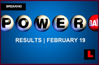 Powerball Winning Numbers February 19, 2014  Results Tonight Reach $400M