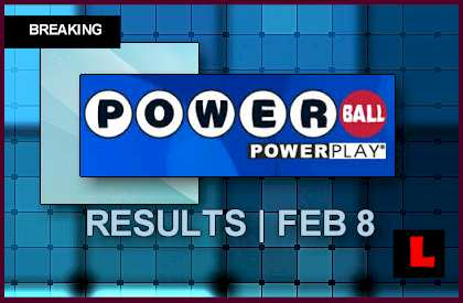 Powerball Winning Numbers: February 8, 2014 2/8/14 Results Tonight Announced