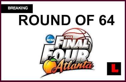 2013 Round of 64 Basketball: Teams Joins NCAA Bracket 2013 Schedule