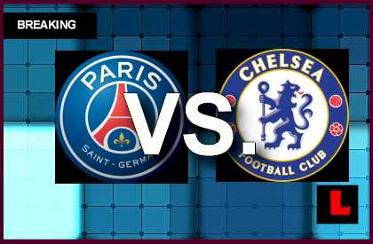 PSG vs. Chelsea 2014 Score Delivers Champions League Results Battle live score results soccer en vivo