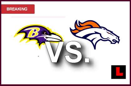 Ravens vs. Broncos 2013: Joe Flacco Scores Early Tonight live score resultsl