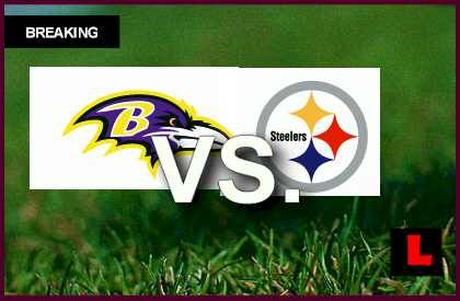 Ravens vs. Steelers 2013 Score: Pittsburgh Leads after First Quarter live score results channel today game