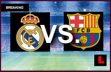 Image Result For En Vivo Barcelona Vs Real Madrid En Vivo Match Result