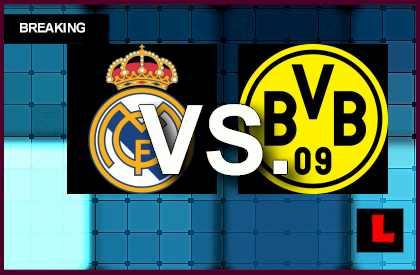 Real Madrid vs. Borussia Dortmund 2014 Score Prompts Champions League Results en vivo live score results soccer