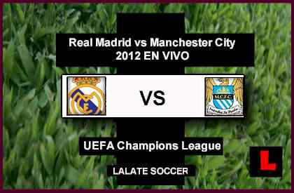 Real Madrid vs. Manchester City 2012: Cristiano Ronaldo Battles Carlos Tevez