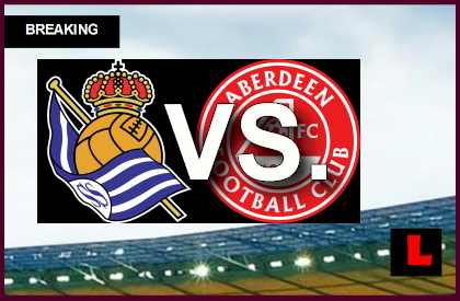 Real Sociedad vs Aberdeen 2014 Score Prompts UEFA Europa League Results