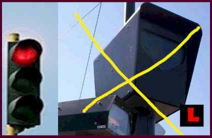 Red Light Traffic Cameras in LA are DEAD