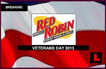 Red Robin Veterans Day 2013 Follows Red Lobster Olive Garden