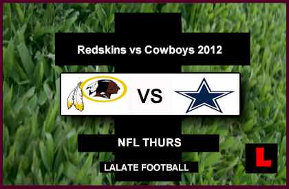 Redskins vs Cowboys 2012: RG3 Faces Tony Romo