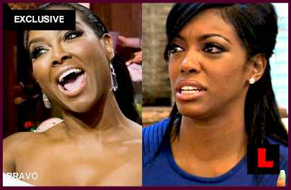 RHOA Reunion Fight: Kenya Moore, Porsha Stewart Fake Story Fed by Cast? EXCLUSIVE