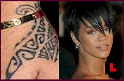Tattoos on New Chest Tattoo Pics Plus All Of Rihanna S Previous Tattoos Pictures