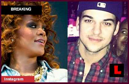 Rob Kardashian, Rihanna Dating Prior to Reggie Bush, Kim Kardashian Wedding