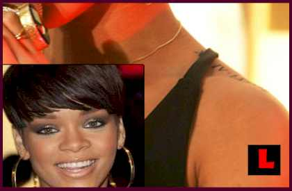 Rihanna Tattoo PICTURES