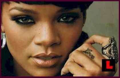 Rihanna S Facial Bruises 119