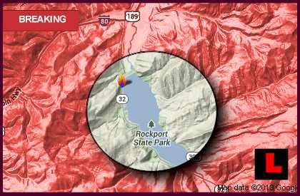 Rockport Estates Fire Map 2013: Utah Fire Grows Near Park City