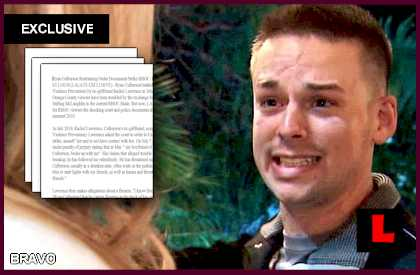 Ryan Culberson Restraining Order Documents Strike RHOC: EXCLUSIVE