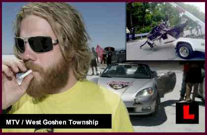 Ryan Dunn Car Crash Photos Depict Speed at Impact: Cops