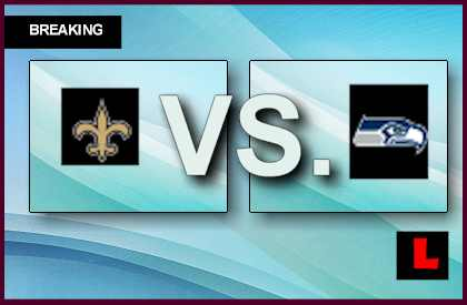 Saints vs. Seahawks 2013 Score Heats Up Monday Night Football Tonight live score results channel today game