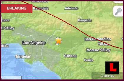 Southern California Earthquake Today 2013 Shakes San Dimas, East of LA