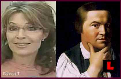 Sarah Palin Paul Revere Remarks Change History
