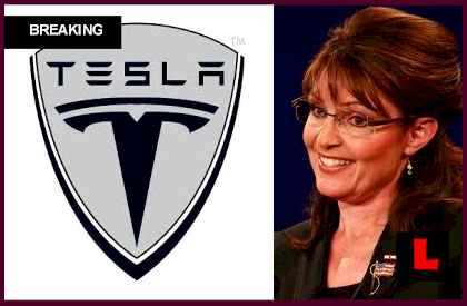 Sarah Palin Tesla Remark Prompts Elon Musk Response