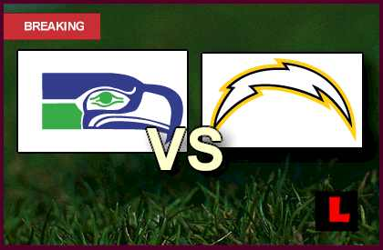 Seahawks vs. Chargers 2013 Debuts NFL Channel Coverage live score results streaming video