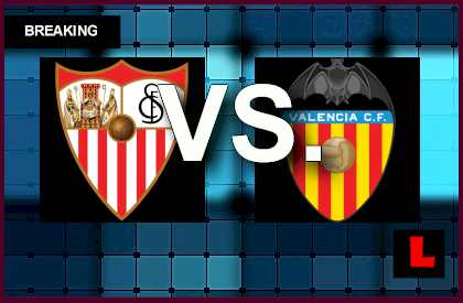 Sevilla vs. Valencia 2014 Score Delivers UEFA Europa League Results en vivo live score results soccer uel today soccer futbol april 24, 2014