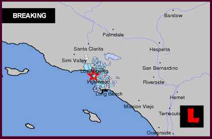 Southern California Earthquake Today 2013 Strikes Los Angeles