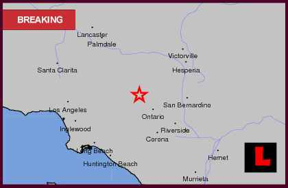 Southern california earthquake data center at caltech, Maps showing