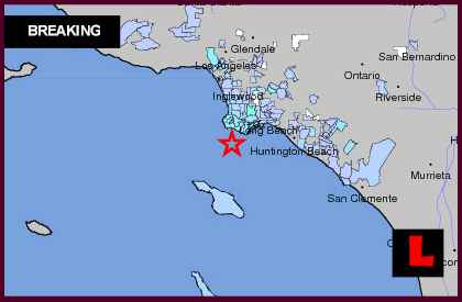 Southern California Earthquake Today 2013 Shakes Palos Verdes